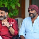 Lucifer malayalam movie, lucifer press meet stills photos, mohanlal in lucifer, mohanlal prithviraj movie, mohanlal 2018 movies,