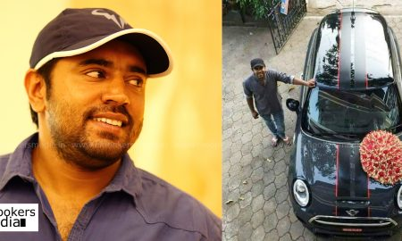 Nivin Pauly , Nivin Pauly new cars , Nivin Pauly new Mini Cooper, nivin wife Rinna ,nivin pauly daughter photos , Nivin Pauly son Dhaveedh , Dhaveedh cute pics