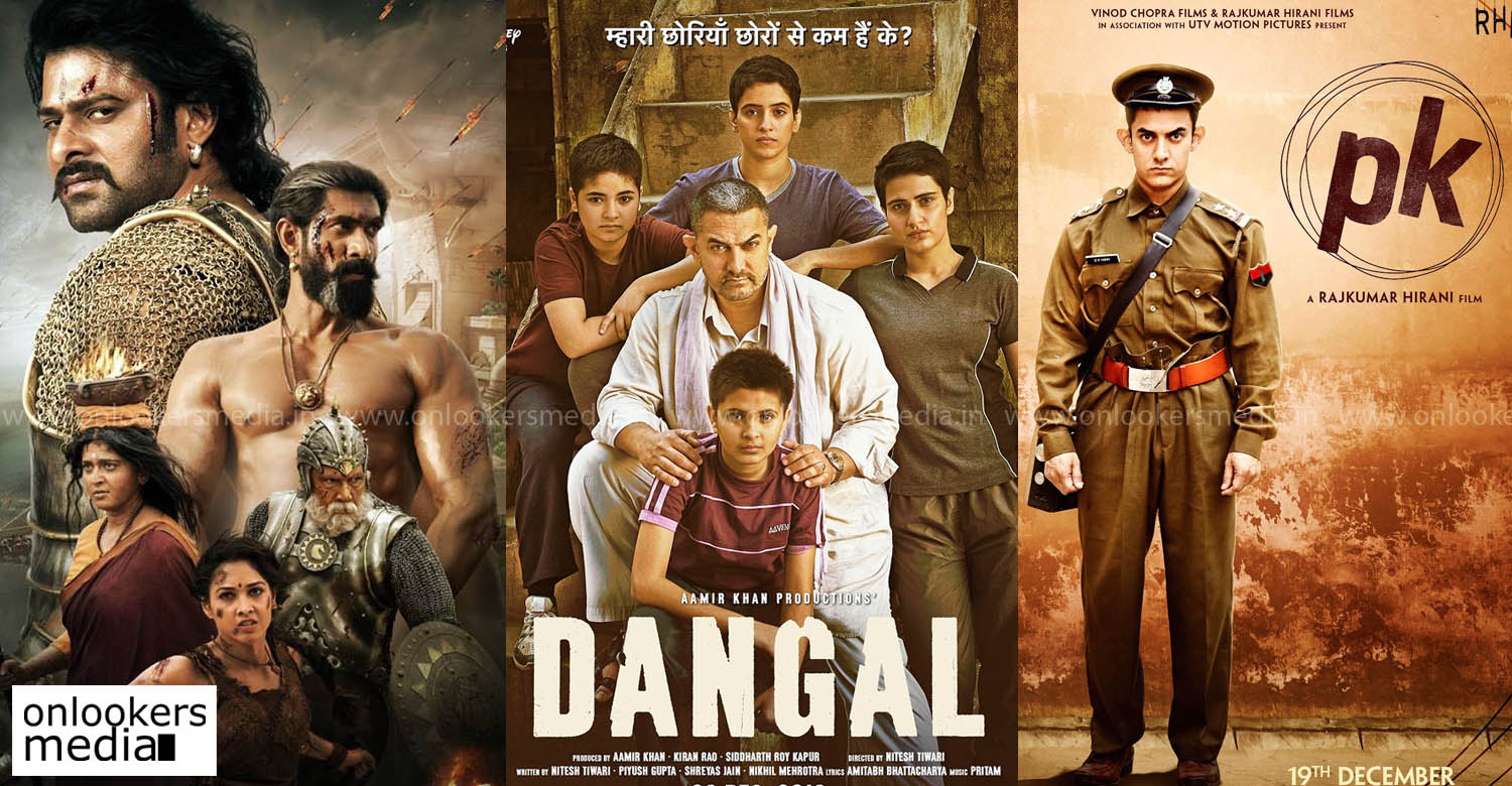 baaahubali 2 latest news, dangal latest news, pk latest news, baahbali to records, highest grossing indian movie