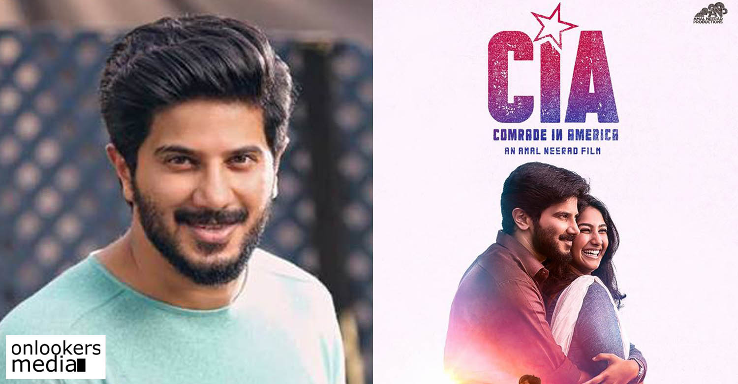 dulquer salmaan latest news, dulquer salmaan new movie, cia latest news, comrade in amrerica latest news, dulquer salmaan about cia