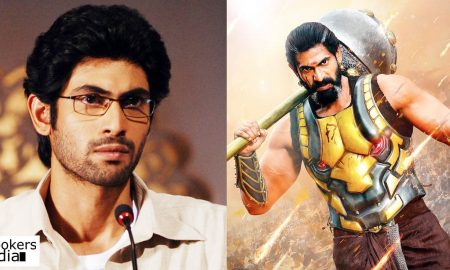 rana daggubati latest news, kurukshethra upcoming movie, kurukshethra kannada movie, kurukshethra big budget movie, rana daggubati upcoming movie, rana daggubati as bheeman