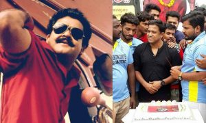 roopesh peethambaran latest news, roopesh peethambaran in spadikam, mohanlal latest news, mohanlal birthday, spadikam re release on mohanlal birthday