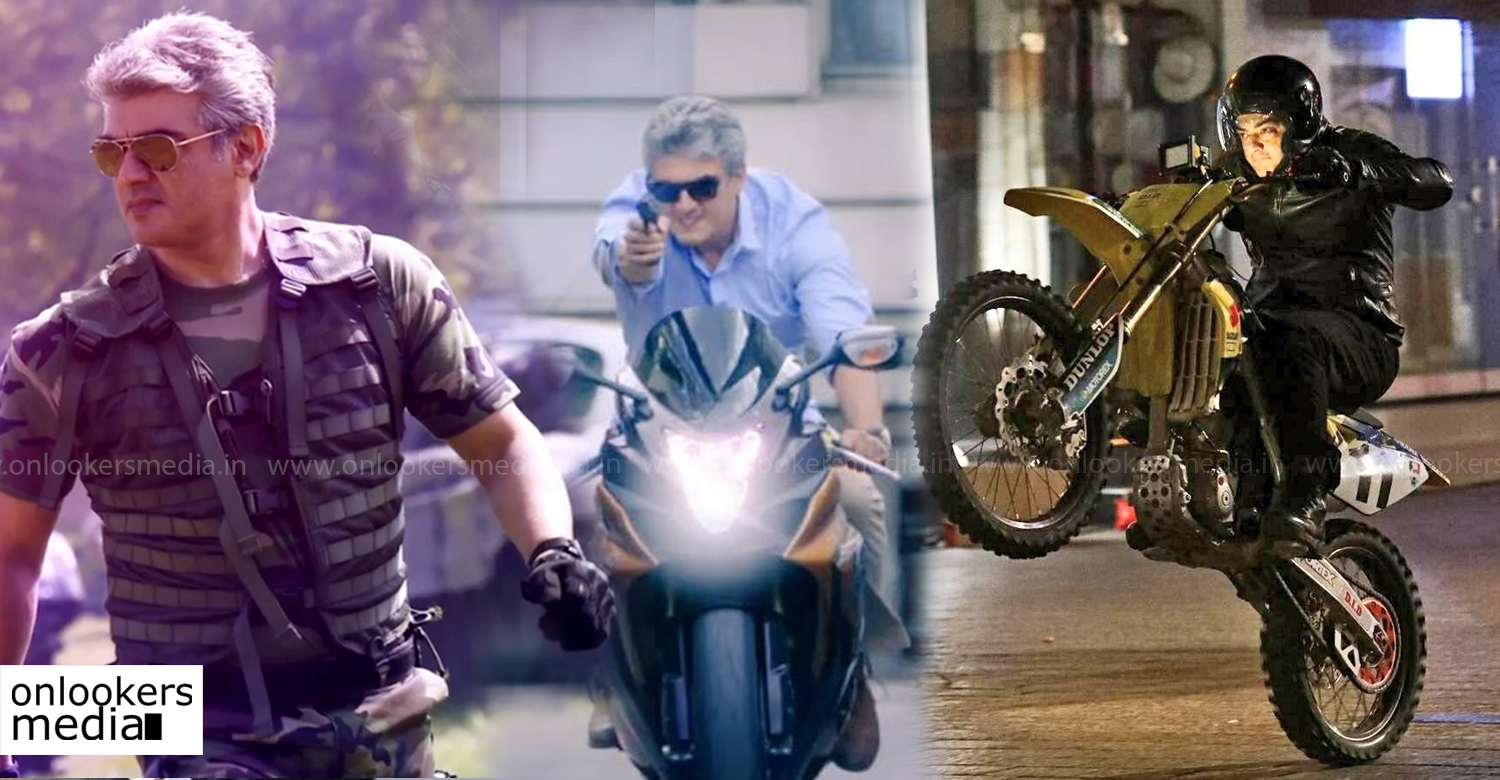 Vivegam ,Director Siva ,Ajith' ,tala Ajith ,Ajith's bike stunts in vivegam ,Ajith in vivegam vivegam first look poster ,vivegam poster ,vivegam ajith stills ,vivegam ajith images ,vivegam ajith look ,tala ajith new movie
