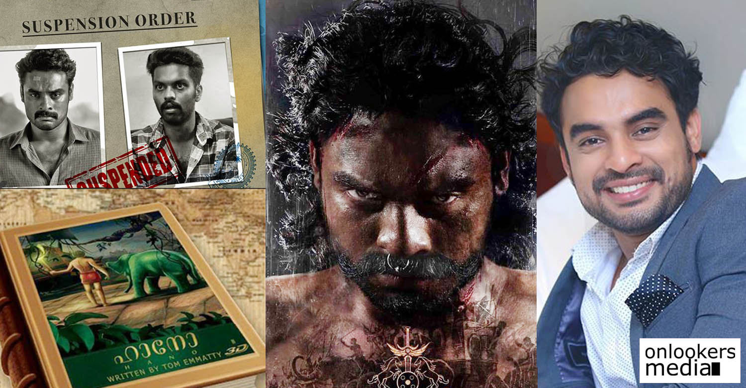 tovino thomas latest news, tovino thomas new movie, tovino thomas upaoming movie, tovino thomas big budget movie, hano movie, tharangam movie, tik tok movie, latest malayalam news