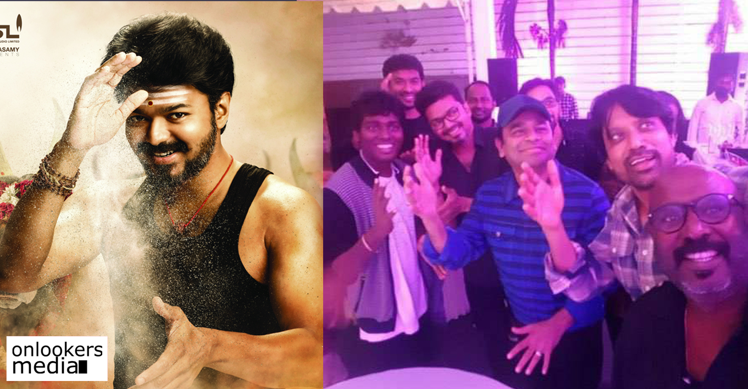 mersal movie,mersal movie success party stills,mersal movie latest news,actor vijay,vijay's latest news,