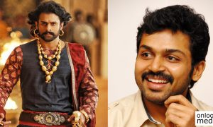 prabhas,prabhas latest news,prabhas recent news,karthi,karthi's latest news,karthi's recent news,latest tamil film news,latest tamil movie news,