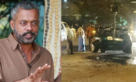 gautham menon latest news, gautham menon accident, gautham menon car accident, gautham menons car, gautham menon upcoming movie, gautham menon injured