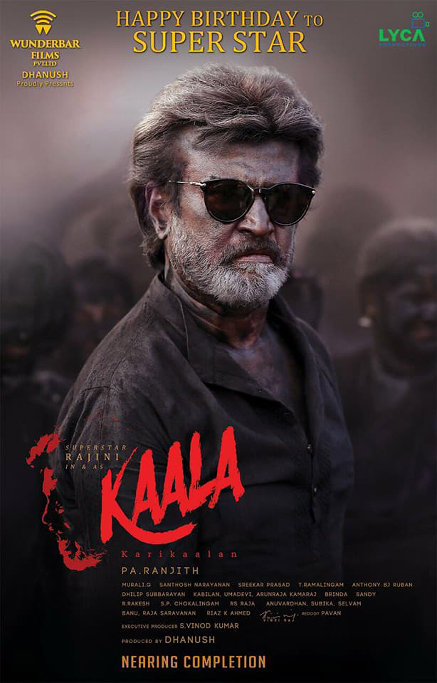 Check out this second look poster of kaala released on rajinikanth39s 67th birthday for Poster photos