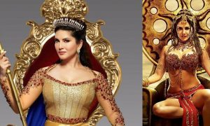 sunny leone latest news, sunny leone upcoming movie, sunny leone as queen, sunny leone big budget movie, sunny leone telugu movie