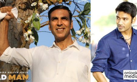 padman hindi movie,padman movie latest news,padman movie recent news,padman akshay kumar movie,akshay kumar's latest news,akshay kumar movie news,dhanush,dhanush's latest news,dhanush movie news,dhanush's upcoming movie news,padman movie director balki,directer balki movie news,arunachalam,arunachalam about actor dhanush,padman movie tamil remake