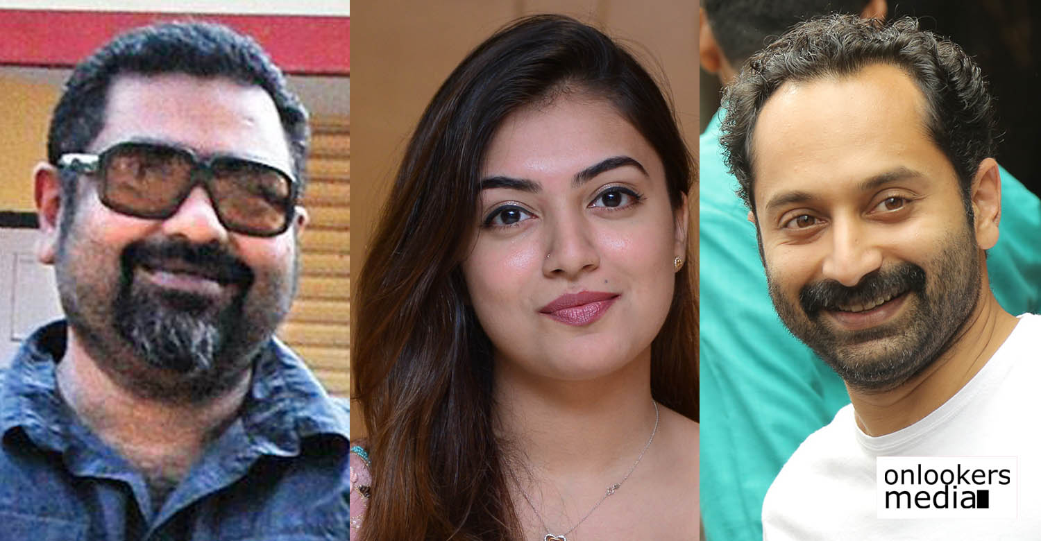 nazriya nazim,nazriya nazim's latest news,fahadh faasil,fahadh faasil's latest news,amal neerad amal neerad's latest news,fahadh faasil amal neerad new movie,fahadh faasil amal neerad new movie producer,fahadh faasil's new movie,fahadh faasil's upcoming movie producer,amal neerad's next movvie producer,nazriya fahadh faasil's latest news,amal neerad's upcoming movie news