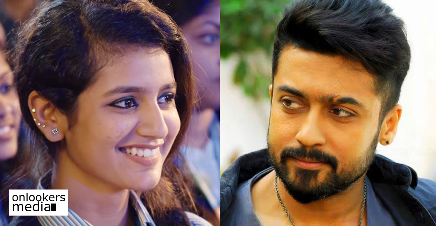 oru adaar love fame priya varrier,priya varrier's latest news,priya varrier's recent news,director kv anand,kv anand's latest news,kv anand's next movie heroin,actor suriya,suriya 37 movie latest news,suriya kv anand new movie heroin,suriya's next movie heroin,priya varrier's debut tamil movie,priya varrier's movie news,suriya's next movie,suriya's upcoming movie,suriya's 37 movie heroin,priya varrier's upcoming movie,priya varrier's new tamil movie,priya varrier new movie,suriya priya varrier image,priya p varrier photo,priya varrier in suriya's next,priya varrier in kv anand's next,priya varrier in suriya's next heroin