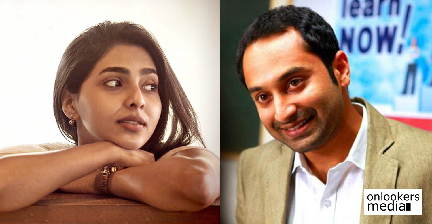 fahadh faasil,fahadh faasil's latest news,fahadh faasil's movie news,fahadh faasil's next movie heroine,after mayaanadhi aishwarya lekshmi's next movie,actress aishwarya lekshmi,aishwarya lekshmi's latest news,aishwarya lekshmi new movie,fahadh faasil aishwarya lekshmi new movie,fahadh faasil amal neerad's new movie heroine,amal neerad's next movie heroine,fahadh faasil aishwarya lekshmi still image