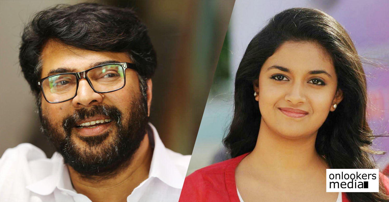keerthy suresh,keerthy suresh's latest news,keerthy suresh's movie news,keerthy suresh's recent news,actress keerthy suresh in yatra movie,keerthy suresh as mammootty's daughter in yatra movie,mammootty's latest news,mammootty movie news,yatra telugu movie,keerthy suresh in mammootty's yatra movie,ys rajasekhara reddy's life story,keerthy suresh in ys rajasekhara reddy's life story movie yatra,keerthy suresh mammootty news,keerthy suresh mammootty image