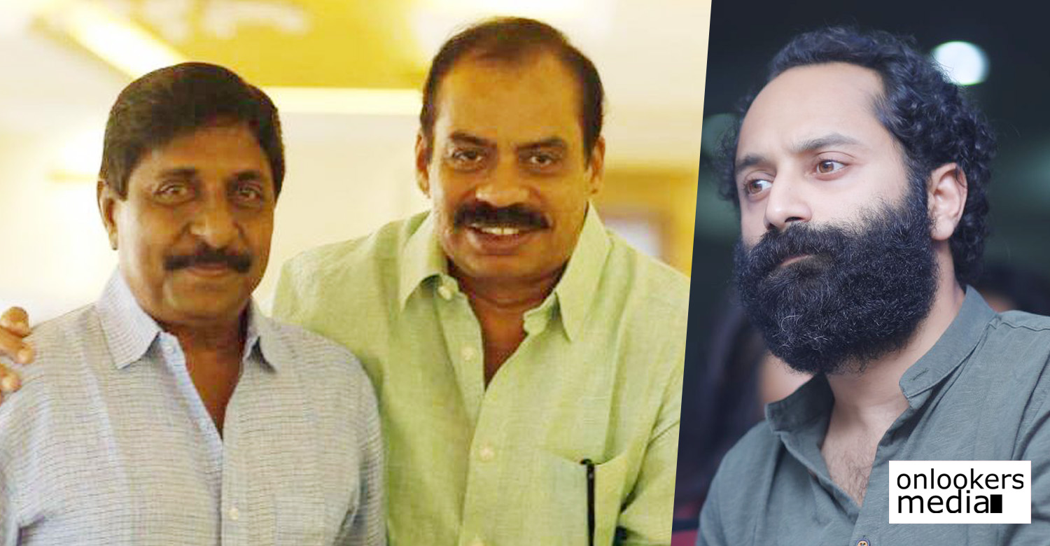 fahadh faasil,fahadh faasil's latest news,fahadh faasil movie news,fahadh faasil's news,sreenivasan,sreenivasan's latest news,sreenivasan movie news,sathyan anthikad sreenivasan,sathyan anthikad sreenivasan new movie,sathyan anthikad sreenivasan fahadh faasil new movie,director sathyan anthikad's next movie,sathyan anthikad fahadh faasil new movie,malayali,malayali new malayalam movie,sathyan anthikad sreenivasan new movie malayali,fahadh faasil's new movie malayali,director sathyan anthikad's movie malayali,malayali movie news
