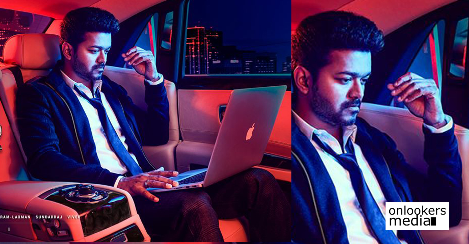 Vijay AR Murugadoss movie poster , Vijay new movie poster ,Sarkar ,Sarkar movie poster vijay Sarkar movie mass stills ,vijay 62 poster