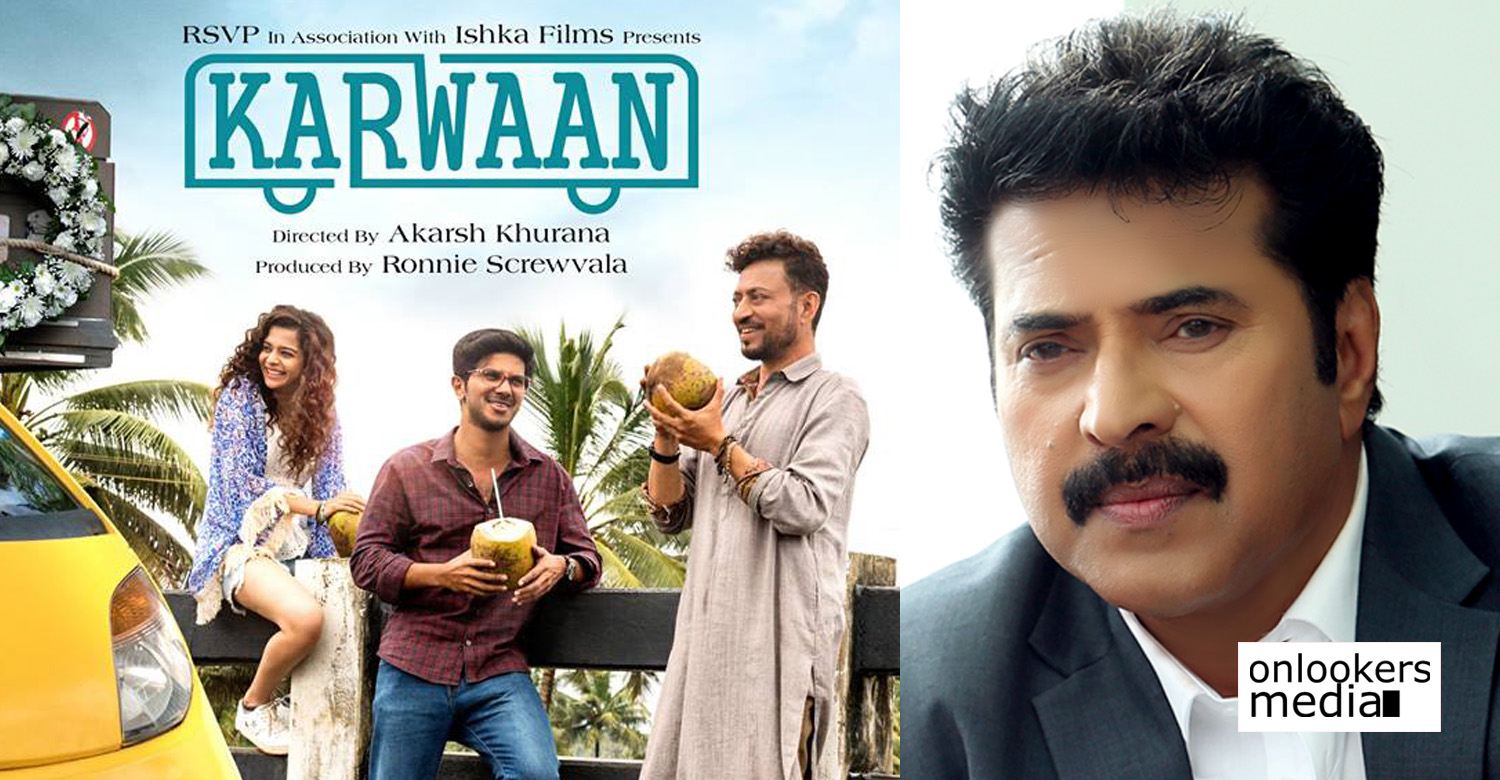 dulquer salmaan,dulquer salmaan's latest news,dulquer salmaan's movie news,karwaan,karwaan hindi movie,karwaan dulquer salmaan's new movie,dulquer salmaan's karwaan movie news,mammootty,megastar mammootty,mammootty dulquer salmaan's latest news,dulquer salmaan's tweet about karwaan movie