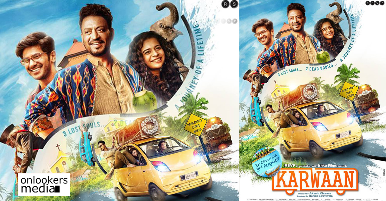 karwaan,karwaan movie,karwaan new hindi movie,karwaan movie news,karwaan movie poster,karwaan movie latest news,karwaan dulquer salmaan's latest news,karwaan dulquer salmaan's debute hindi movie,dulquer salmaan,dulquer salmaan's movie news,karwaan movie trailer release date,karwaan movie latest poster,karwaan movie first look poster,first look of dulquer salmaan's karwaan movie poster