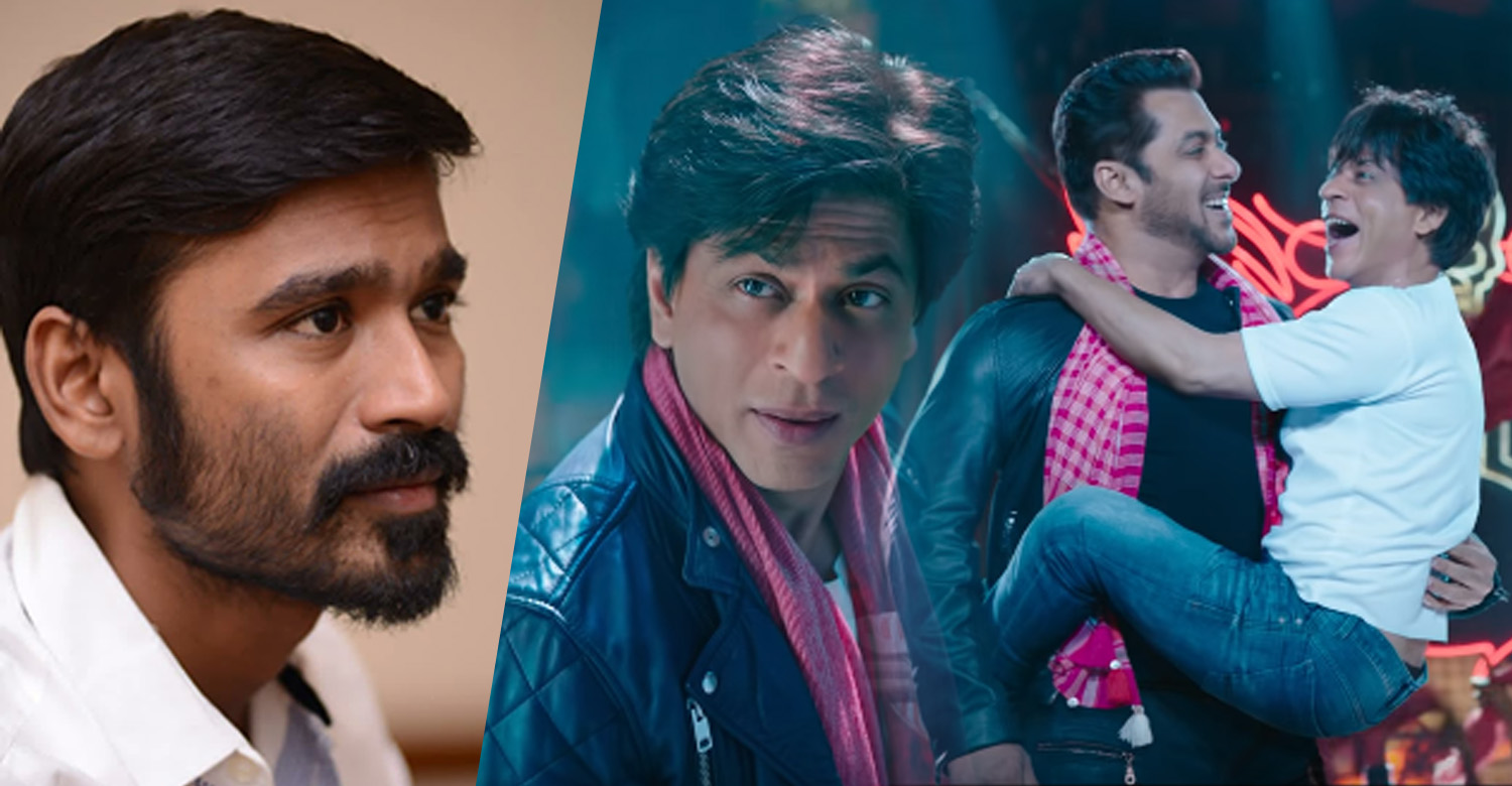 shah rukh khan,shah rukh khan's latest news,shah rukh khan tweet about dhanush,dhanush,dhanush's latest news,dhanush sha rukh khan's news,zero movie teaser