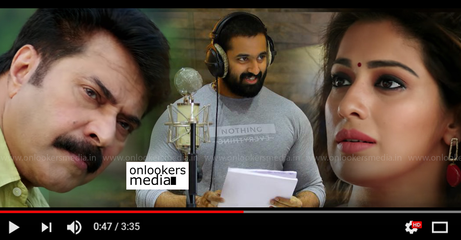 oru kuttanadan blog,oru kuttanadan blog movie songs,oru kuttanadan blog unni mukundan's song,mammootty's oru kuttanadan blog unni mukundan's song,oru kuttanadan blog movie chaarathu nee song,oru kuttanadan blog chaarathu nee making video,
