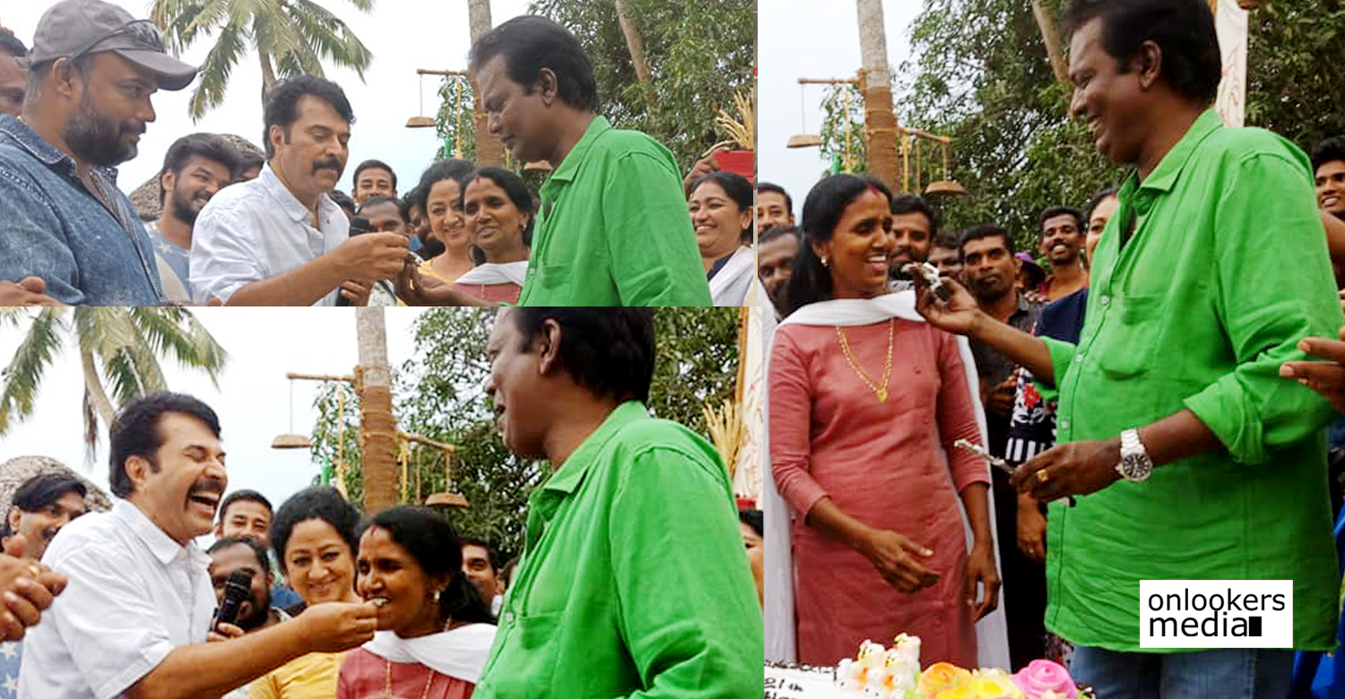 Salim Kumar wedding anniversary ,Salim Kumar wife photo ,Salim Kumar family photo ,Salim Kumar celebrates wedding anniversary, Madura Raja location stills ,Madura Raja mammootty stills