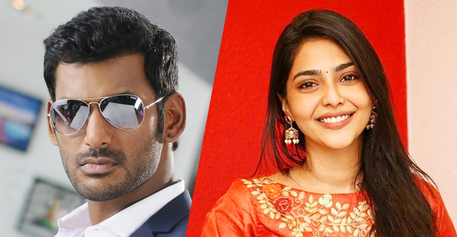 Aishwarya Lekshmi,actress Aishwarya Lekshmi,actress Aishwarya Lekshmi's latest news,Aishwarya Lekshmi's movie news,Aishwarya Lekshmi in vishal's next movie,Aishwarya Lekshmi vishal movie,Aishwarya Lekshmi debut tamil movie,Aishwarya Lekshmi in sundar c's next movie,vishal,actor vishal,actor vishal's movie news,vishal sundar c movie news