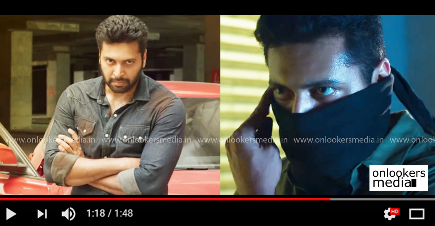 Adanga Maru,Adanga Maru trailer,Adanga Maru official trailer,jayam ravi's Adanga Maru trailer,Adanga Maru movie news,Adanga Maru tamil movie trailer