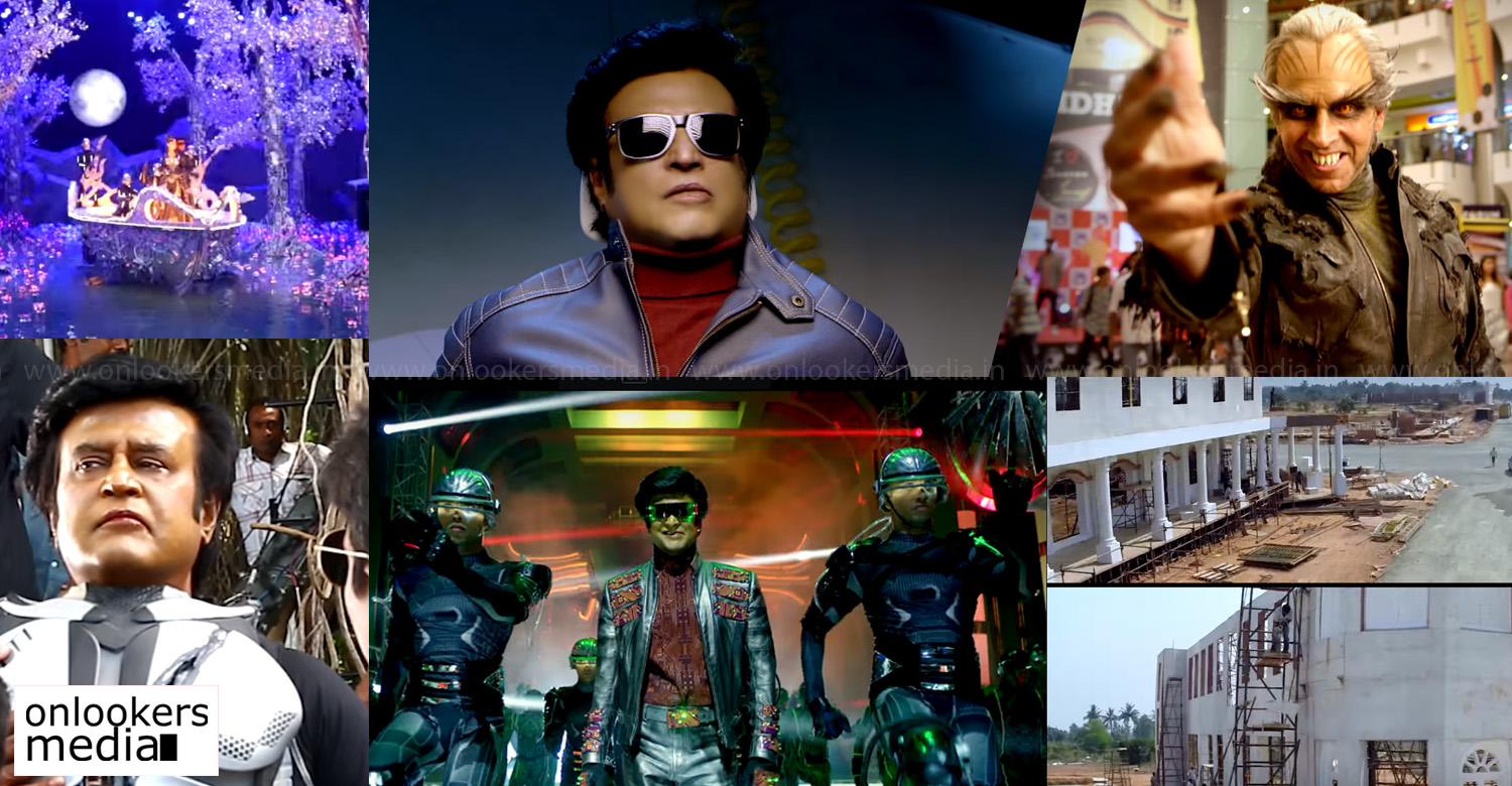 2.0 making video,2.0 movie making video,2.0 movie new making video,rajinikanth's 2.0 making video,rajinikanth shankar's 2.0 making video,akshay kumar's 2.0 making video,2.0 movie making stills,2.0 movie news