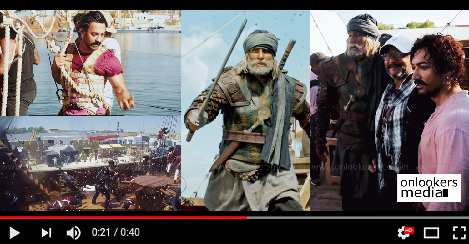 Thugs of Hindostan,Thugs of Hindostan making video,aamir khan amitabh bachchan's Thugs of Hindostan making video,aamir kahan's Thugs of Hindostan making video,Aamir Khan Amitabh Bachchan Movie,Aamir Khan's Thugs of Hindostan movie new making video , Amitabh Bachchan's Thugs of Hindostan making video