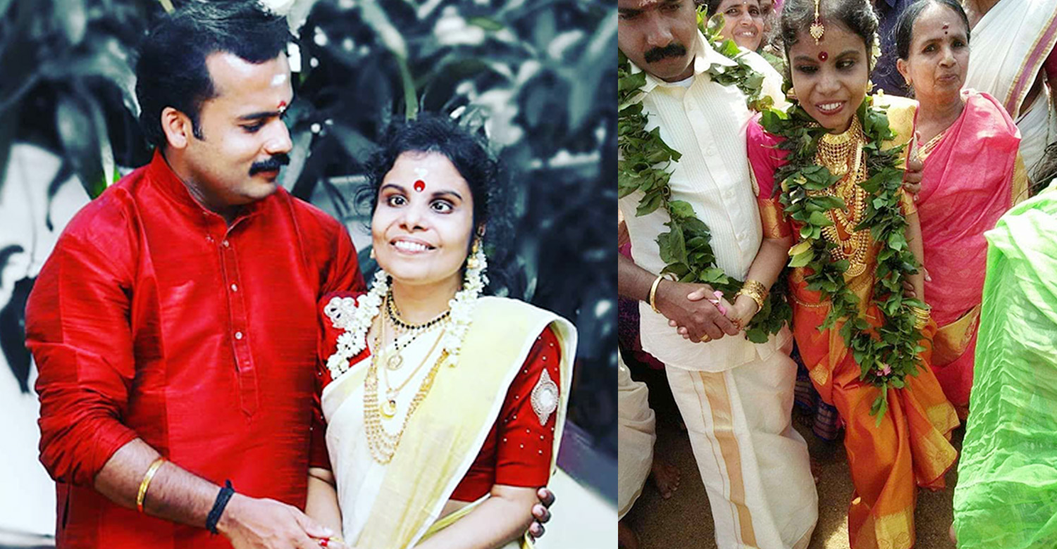 Singer Vaikom Vijayalakshmi,Singer Vaikom Vijayalakshmi's latest news,Singer Vaikom Vijayalakshmi marriage stills,Vaikom Vijayalakshmi's marriage stills,Singer Vaikom Vijayalakshmi's recent news,Singer Vaikom Vijayalakshmi marriage news
