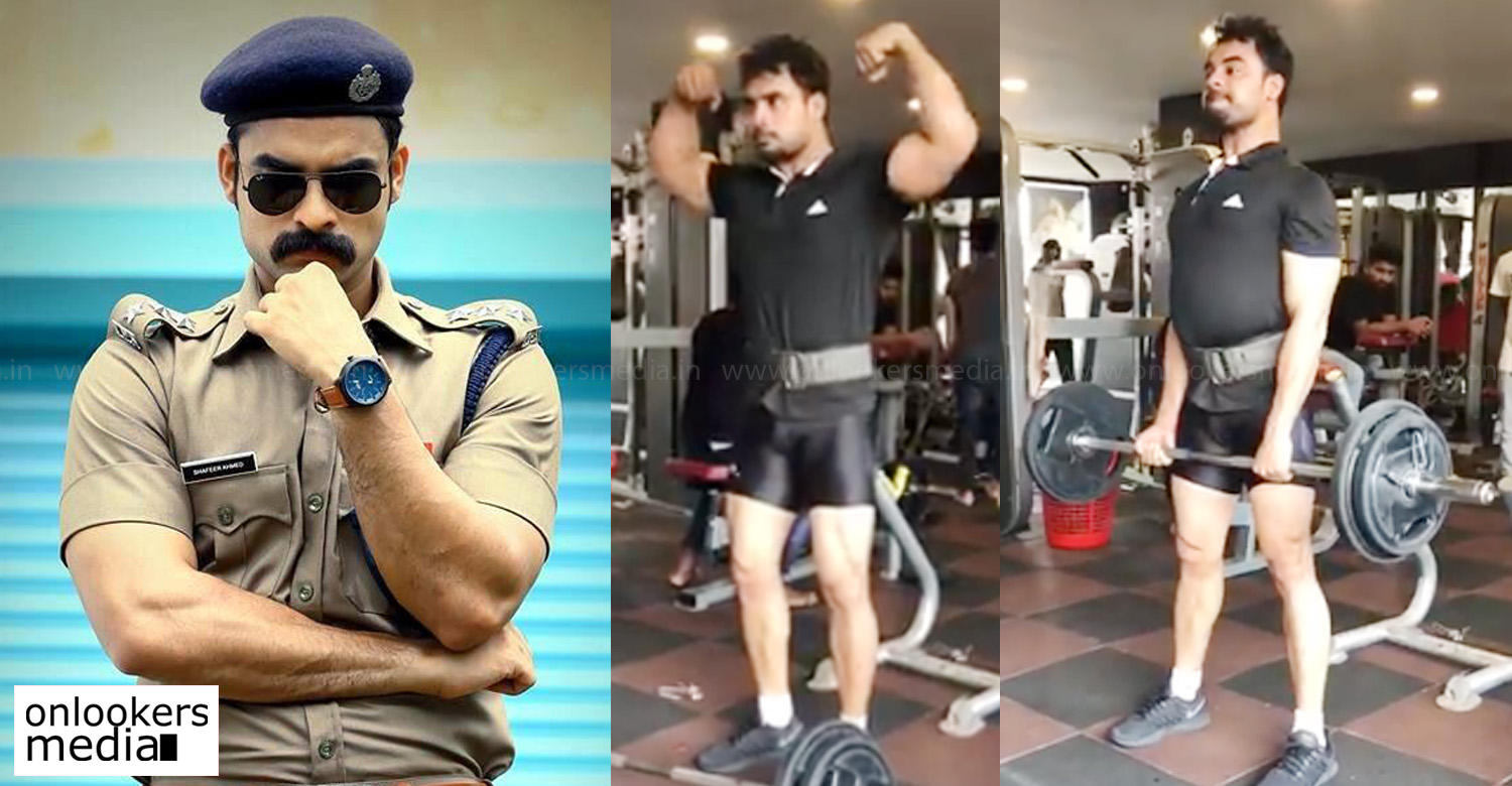 tovino thomas,tovino thomas workout for kalki movie,tovino thomas latest news,tovino thomas movie news,tovino thomas working out at gym,