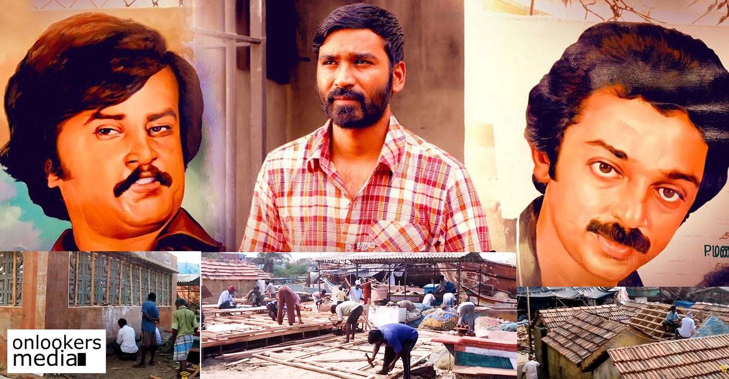 vada chennai,vada chennai set making video,dhanush's vada chennai set making video,dhanush vetrimaran vada chennai making video,vada chennai making video