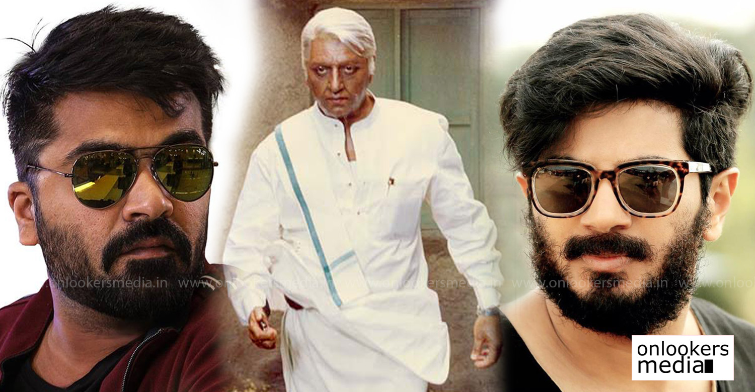 Indian 2,Indian 2 movie,dulquer salmaan,simbu,dulquer salmaan in Indian 2,simbu in Indian 2,director shankar,dulquer salmaan simbu star in Indian 2,dulquer salmaan's latest news,simbu's latest news,kamal haasan,dulquer salmaan in kamal haasan's Indian 2,simbu in kamal haasan's Indian 2