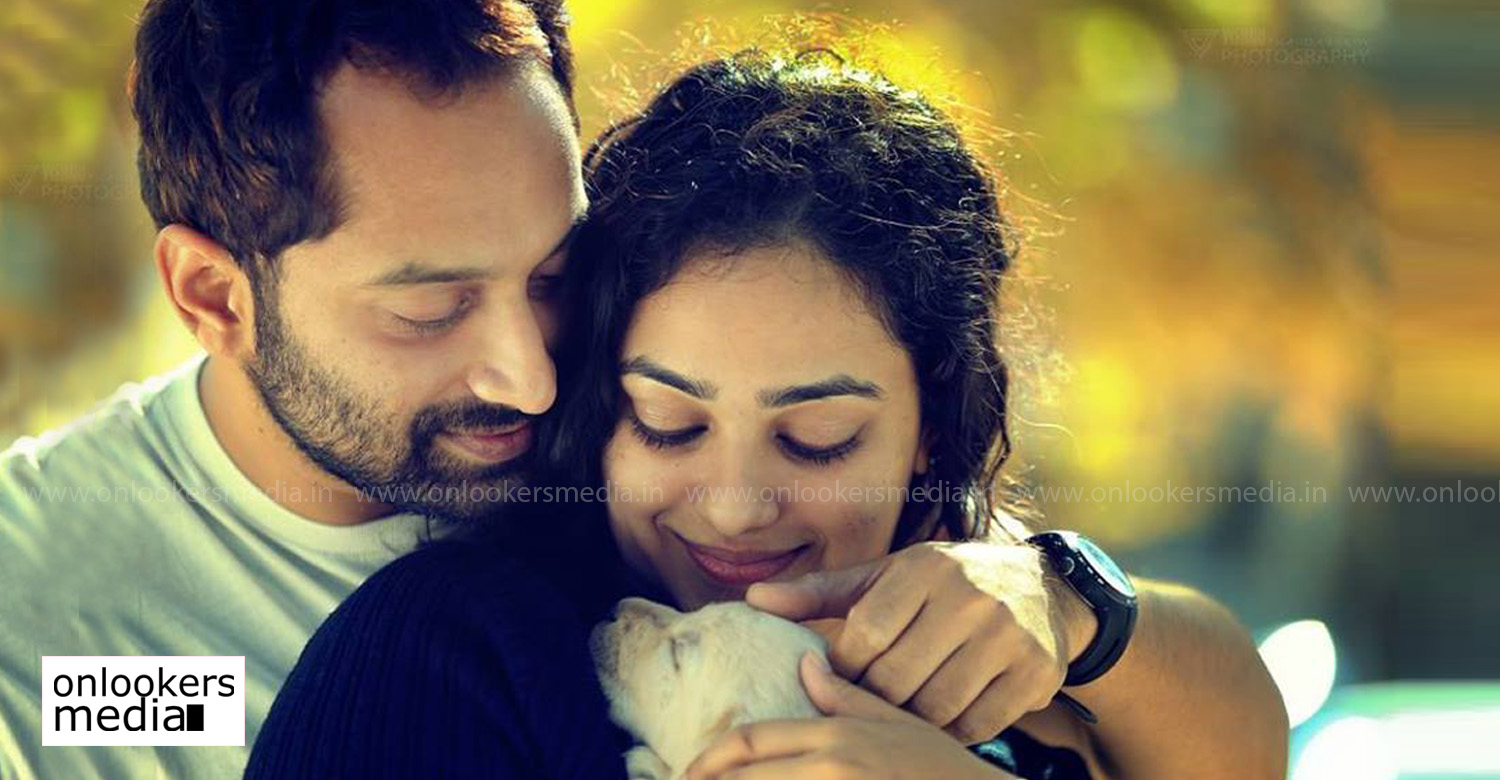 nithya menen,fahadh faasil,fahadh faasil nithya menen new movie,after bangalore days fahadh faasil nithya menen movie,fahadh faasil nithya menen movie stills photos,fahadh faasil nithya menen new movie