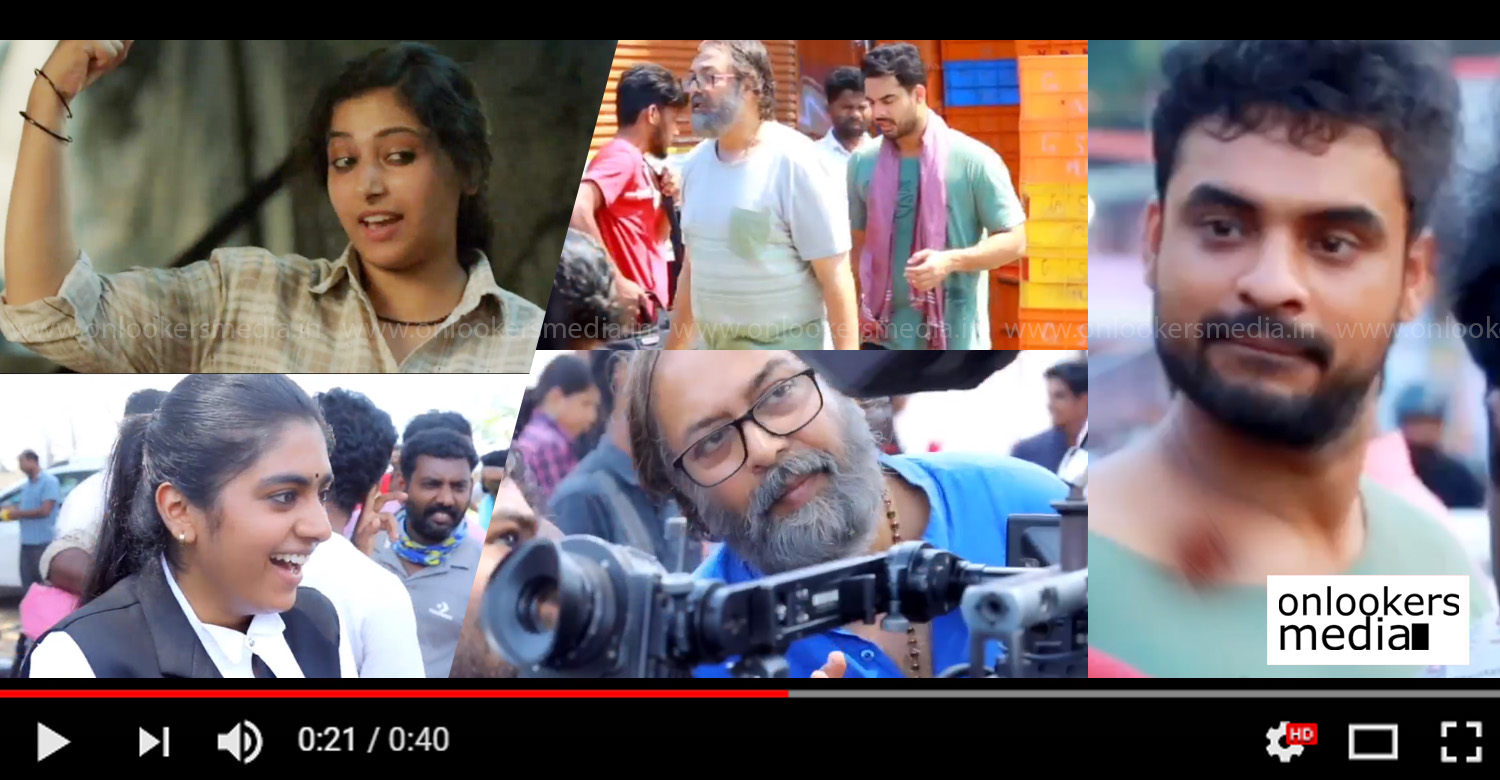 Oru Kuprasidha Payyan,Oru Kuprasidha Payyan making video,tovino thomas,tovino thomas Oru Kuprasidha Payyan making video,madhupal,nimsha sajayan,anu sithara,Oru Kuprasidha Payyan malayalam movie making video