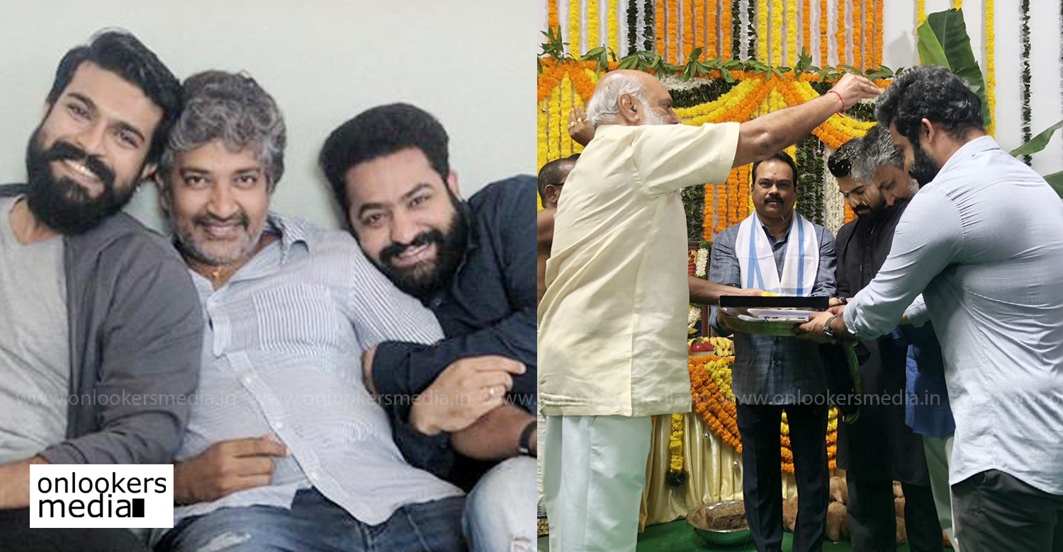 SS Rajamouli,SS Rajamouli's new movie launch,jr ntr,ram charan,rrr launch,ss rajamouli's next project,ss rajamouli's upcoming movie