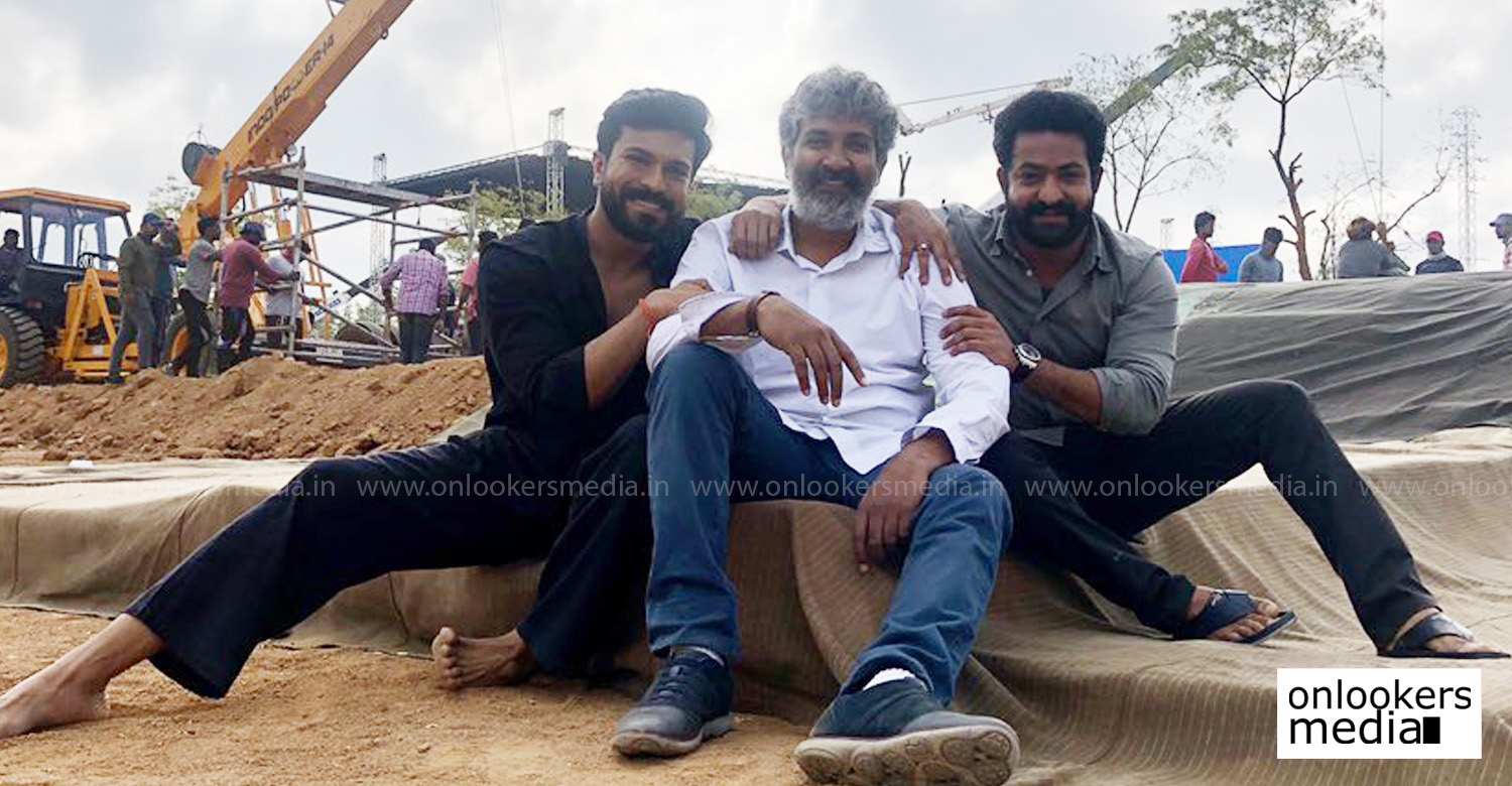 ss rajamouli,jr ntr,ram charan,rrr,rrr starts rolling,ss rajamouli jr ntr ram charan new movie,rrr shooting dates