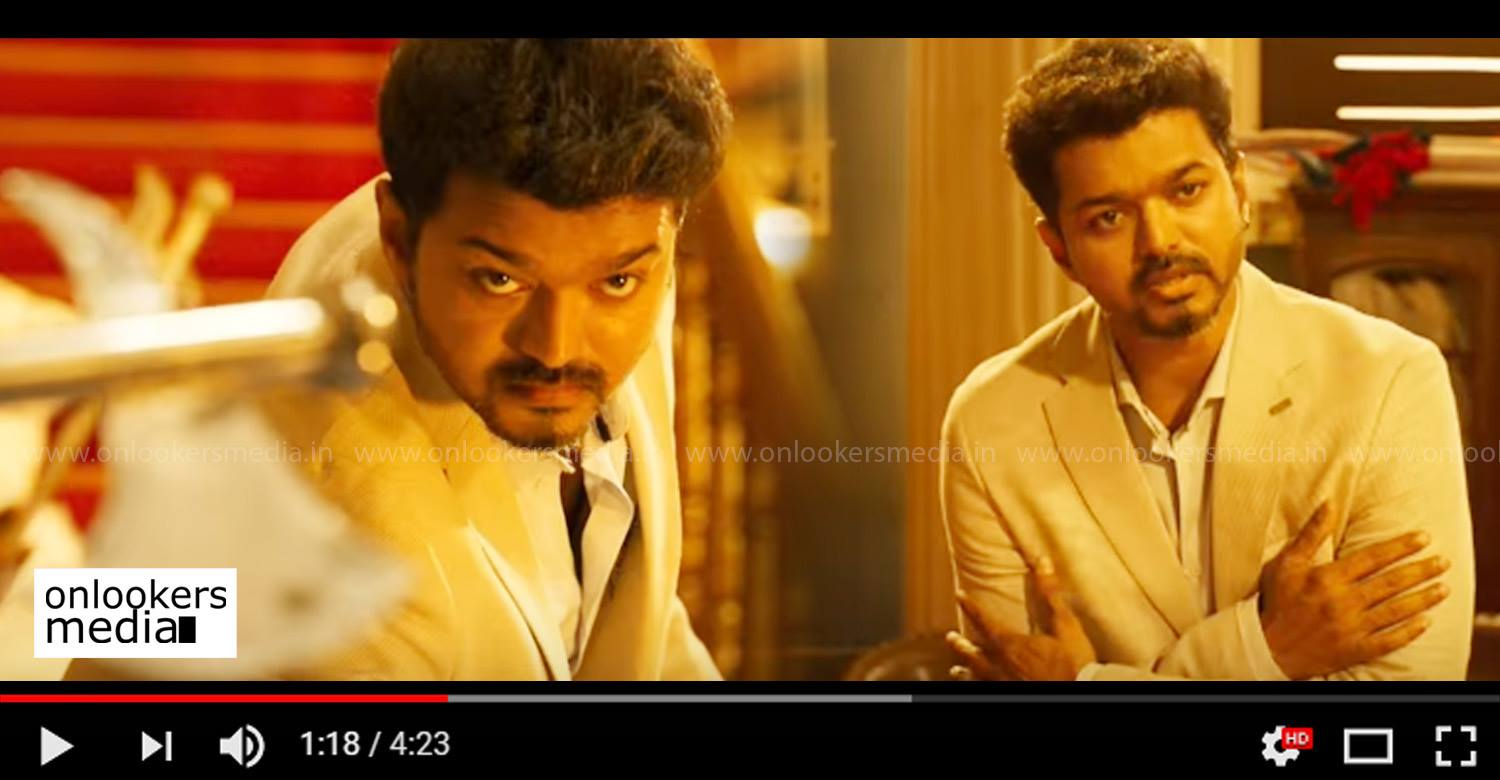 Sarkar,Sarkar promo video 5,thalapathy vijay's sarkar latest promo video,sarkar movie promo video,vijay's sarkar new promo video,sarkar movie latest news,