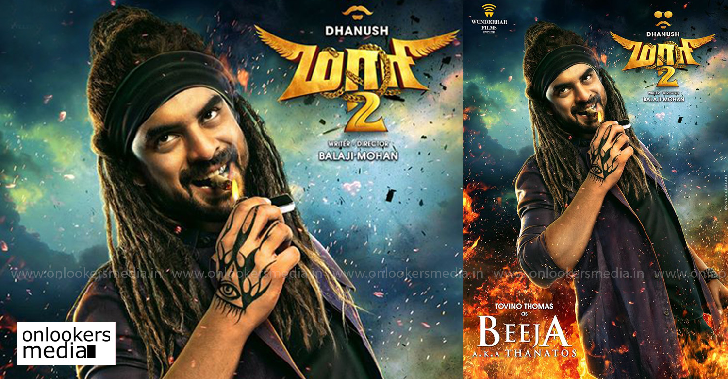 tovino thomas,maari 2,tovino thomas in maari 2,tovino thomas maari 2 poster,maari 2 tovino thomas stills images