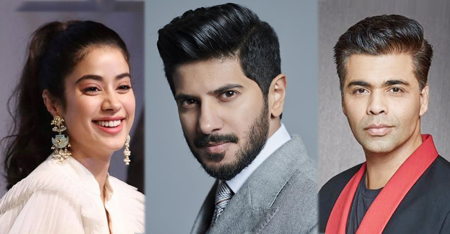 Dulquer Salmaan,karan johar,janhvi kapoor,dulquer salmaan's latest news,dulquer salmaan in karan johar movie,karan johar's upcoming movie,actress janhvi kapoor,dulquer salmaan karan johar janhvi kapoor's latest news,karan johar's next movie