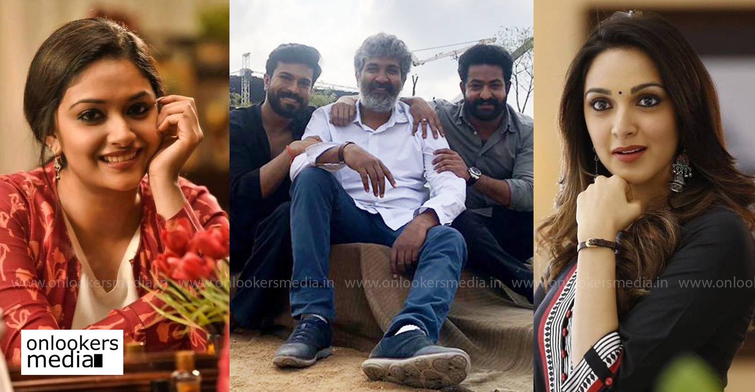 Keerthy Suresh,Kiara Advani,ss rajamouli,jr ntr,ram charan,keerthy suresh in ss rajamouli's new movie,kiara advani in ss rajamouli's new movie,actress Kiara Advani,Kiara Advani's latest news,actress keerthy suresh,keerthy suresh's latest news
