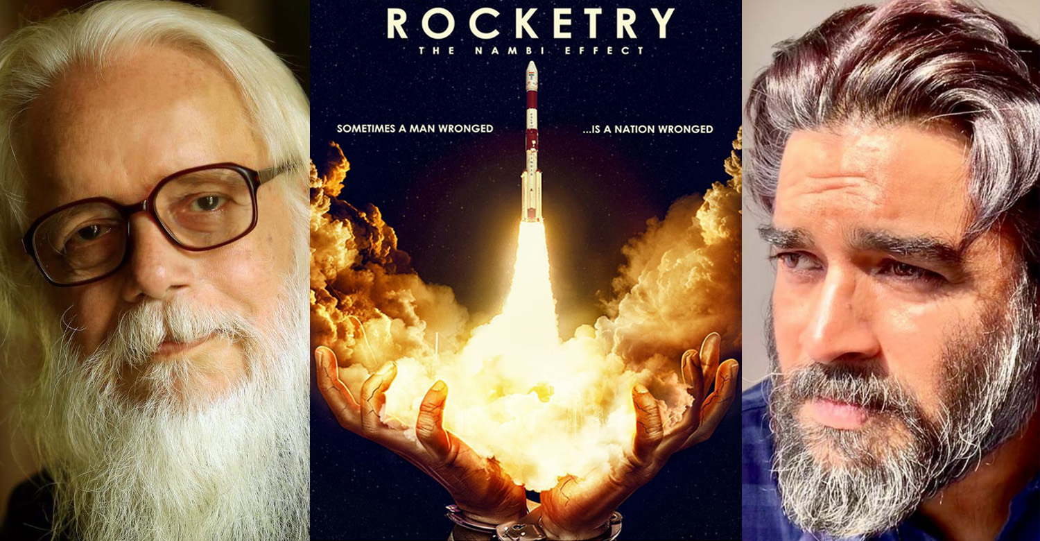 Madhavan,R Madhavan,actor Madhavan,nambi narayanan,Madhavan's latest look for nambi narayan's biopic,Madhavan's new look for Rocketry - The Nambi Effect,madhavan's new look,madhavan's latest look for Rocketry - The Nambi Effect,nambi narayanan's biopic movie
