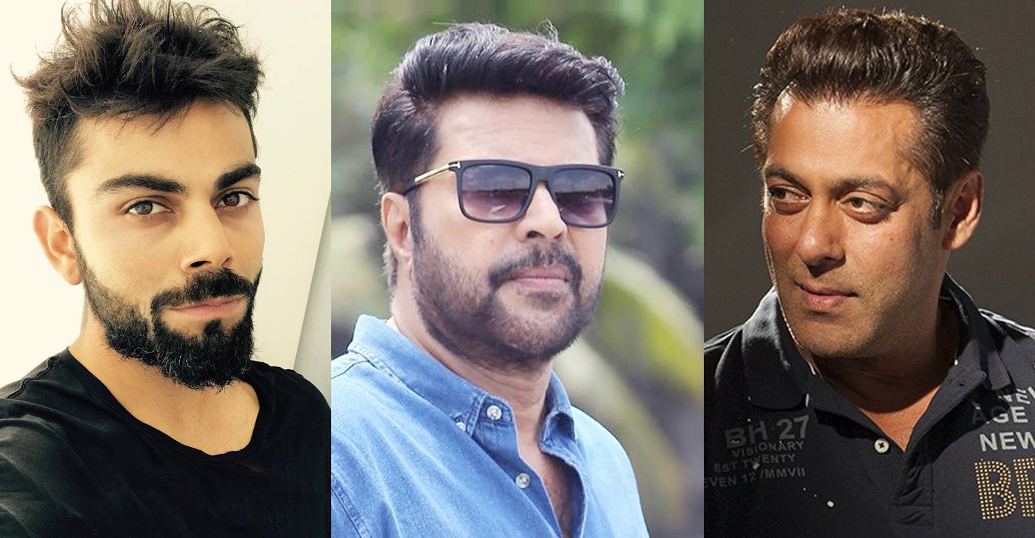 Mammootty,megastar Mammootty,Forbes India Celebrity 100 List,virat kohli,salman khan,mammootty in Forbes India Celebrity 100 List