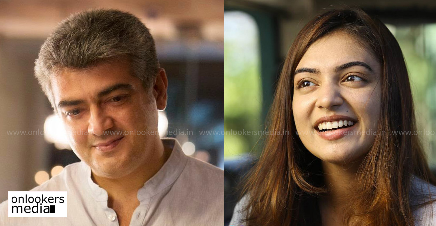 nazriya nazim,actress nazriya nazim,thala 59,thala 59 female lead,thala 59 heroine,thala ajith,thala ajith's new movie heroine,nazriya nazim in thala ajith's next,nazriya nazim in thala 59