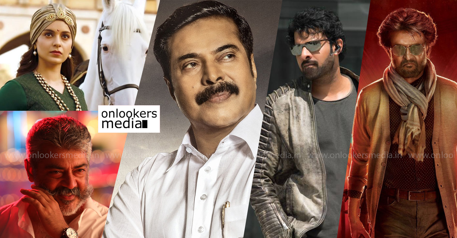 top 10 anticipated movies of 2019,top 10 anticipated indian movies of 2019,top 10 anticipated indian films,yatra,petta,saaho,viswasam,Manikarnika