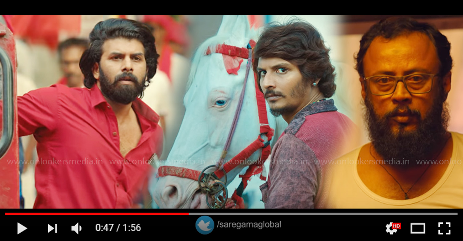 Gypsy Official Teaser,gypsy teaser,gypsy tamil movie teaser,gypsy movie teaser,Jiiva,Natasha Singh,Raju Murugan,Santhosh Narayanan,sunny wayne,lal jose,sunny wayne's gypsy teaser,jiiva's gypsy teaser