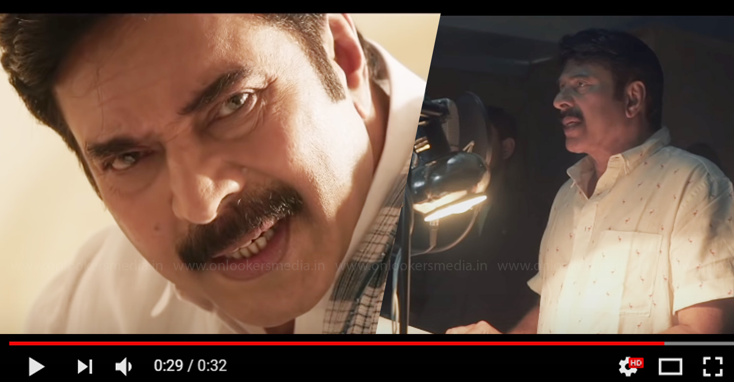 Mammootty Dubbing Making The Voice of Yatra,mammootty dubbing for yatra,ysr biopic,megastar mammootty,yatra movie mammootty's dubbing making video,yatra dubbing making video,the voice of yatra,mammootty dubbing for ysr biopic