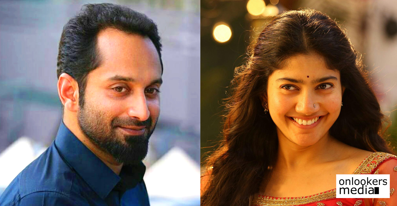 Fahadh Faasil,sai pallavi,fahadh faasil's new movie,fahadh faasil sai pallavi movie,fahadh faasil sai pallavi stills,director vivek,PF Mathews,writer PF Mathews,sai pallavi,sai pallavi's new malayalam movie,sai pallavi's stills