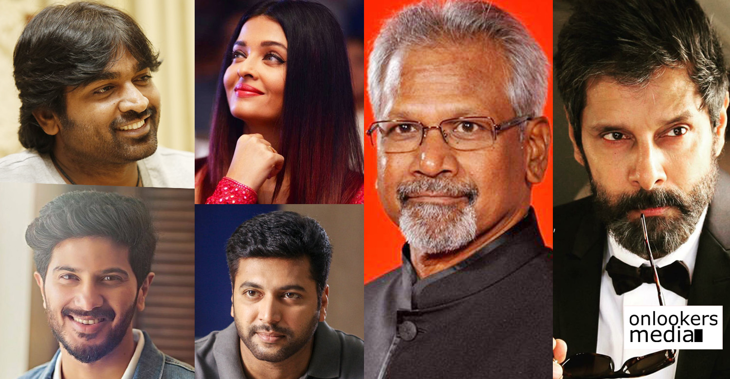 Mani Ratnam,Mani Ratnam's next movie,Mani Ratnam's movie news,Mani Ratnam's upcoming movie,Vijay Sethupathi, Vikram, Jayam Ravi, Aishwarya Rai Bachchan,Dulquer Salmaan,mani ratnam on his next