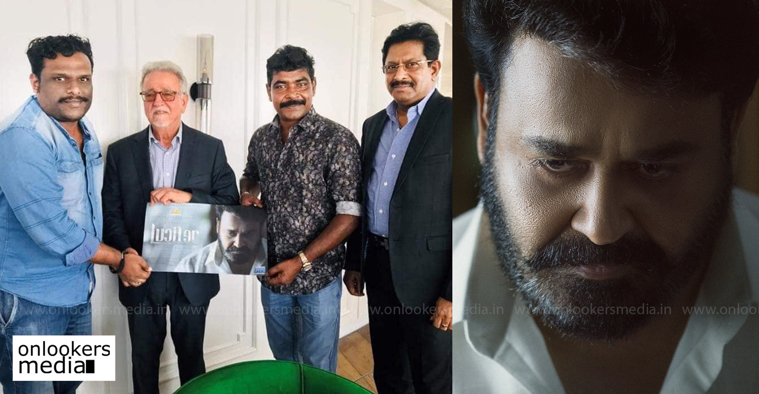 lucifer,lucifer update,lucifer movie latest news,lucifer overseas rights,Phars Film Co LCC,mohanlal,prithviraj,lucifer malayalam movie latest news